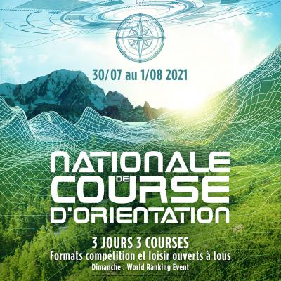 Nationale oriëntatieloop | 30 juli-1st august 2021